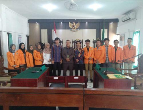 FH UAD Terjunkan 86 Mahasiswa Kuliah Praktek Peradilan di PN Bantul