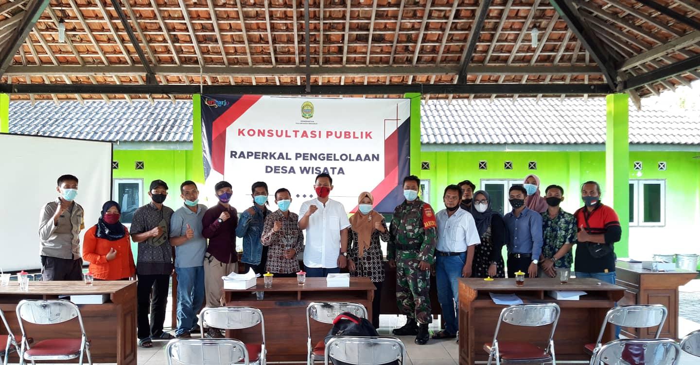 Dosen FH UAD Melakukan Konsultasi Publik Rancangan Peraturan Kalurahan (Raperkal) Pengelolahan Desa Wisata Sriharjo